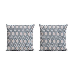 Humming Printed 20inch  Decorative Pillow Cover(Set of 2)