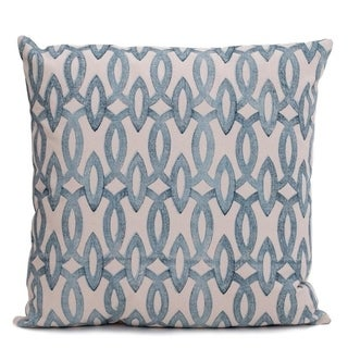 Block Printed 20inch Decorative Pillow Cover -