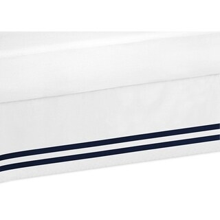 Sweet Jojo Designs Twin Bed Skirt for the Anchors Away Collection