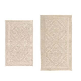 Provence Jacquard 2 Pc Set Bath Rug