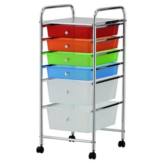 Furinno Wayar 6-Drawer Trolley, WS17185