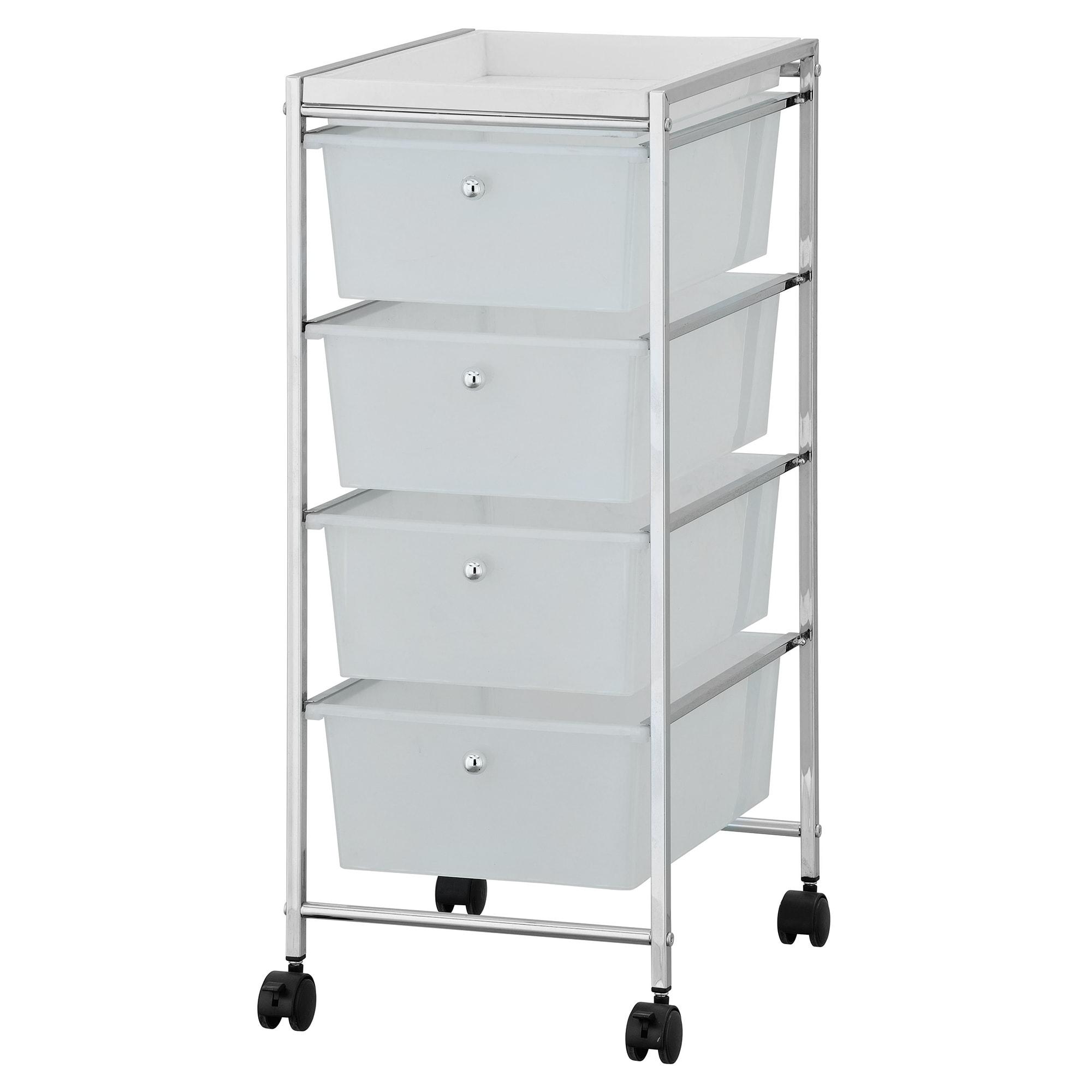 Den Copeland 4 Drawer Storage Cart
