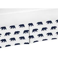 Sweet Jojo Designs Twin Bed Skirt for the Big Bear Collection