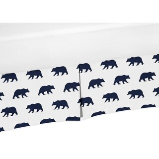Sweet Jojo Designs Queen Bed Skirt for the Big Bear Collection