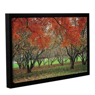 Tamela Apple's NCC Trees, Gallery Wrapped Floater-framed Canvas