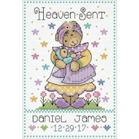 Heaven Sent Counted Cross Stitch Kit