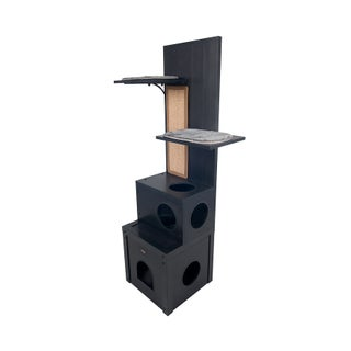 ecoFLEX Cat Climber - Cat Tree (Option: Black)