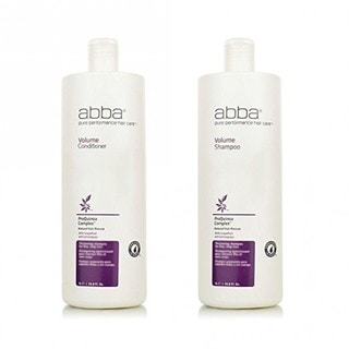 Abba Pure Volume 33.8-ounce Shampoo & Conditioner for Fine Limp Hair Duo