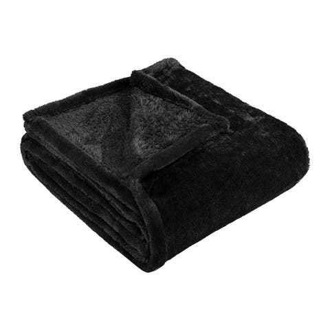 Superior Ultra-Soft Plush Fleece Throw and Blanket