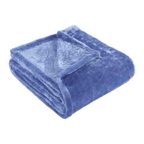 Superior Ultra-Soft Plush Fleece Throw and Blanket