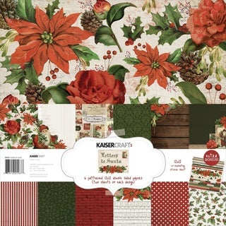 "Kaisercraft Paper Pack 12""X12"" 12/Pkg