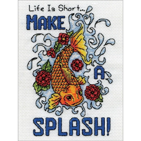 Make A Splash Counted Cross Stitch Kit -  Tobin, 2968
