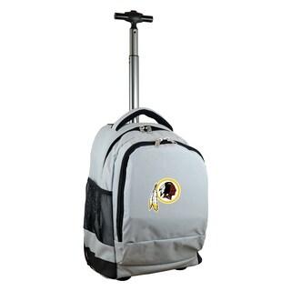 NFL Washington Redskins Wheeled Premium Backpack in Gray