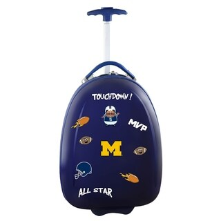 NCAA Michigan Kids Pod Luggage in Navy