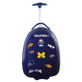 NCAA Michigan Kids Pod Luggage in Navy