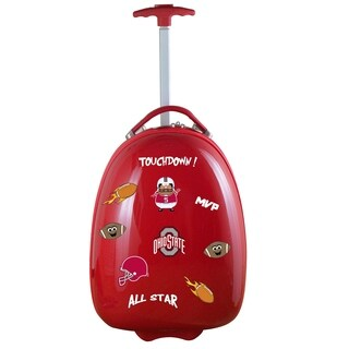 NCAA Ohio State Kids Pod Luggage in Red