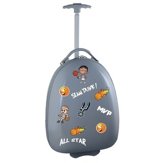 NBA San Antonio Spurs Kids Pod Luggage in Gray