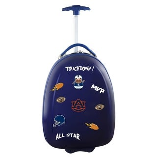 NCAA Auburn Kids Pod Luggage in Navy