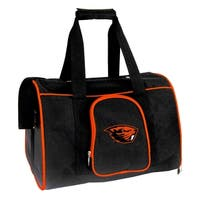 NCAA Oregon State Pet Carrier Premium 16in bag in Orange