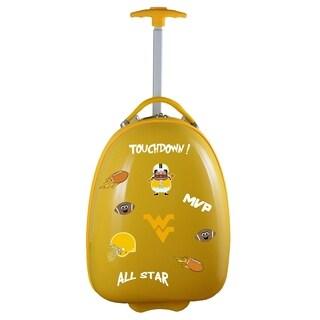 NCAA West Virginia Kids Pod Luggage in Yellow
