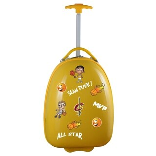 NBA Cleveland Cavaliers Kids Pod Luggage in Yellow