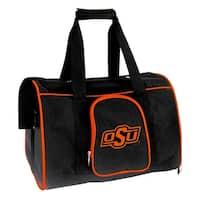 NCAA Oklahoma State Pet Carrier Premium 16in bag in Orange