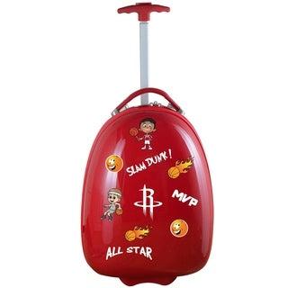 NBA Houston Rockets Kids Pod Luggage in Red