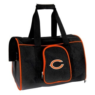 NFL Chicago Bears Pet Carrier Premium 16in bag in Orange