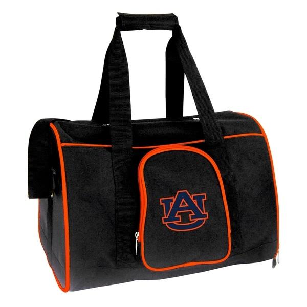 NCAA Auburn Pet Carrier Premium 16in bag in Orange