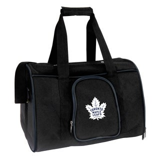 NHL Toronto Maple Leafs Pet Carrier Premium 16in bag in Navy