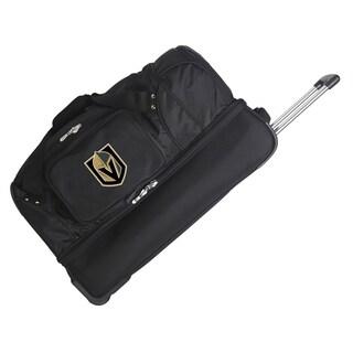 NHL D 27in Wheeled Duffel Nylon bag in Black