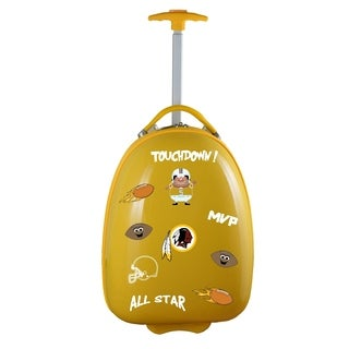 NFL Washington Redskins Kids Pod Luggage in Yellow