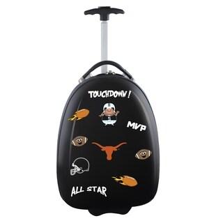 NCAA Texas Kids Pod Luggage in Black