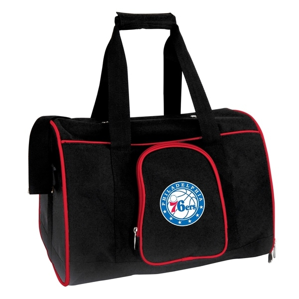 edf78357f8ff Shop NBA Philadelphia 76ers Pet Carrier Premium 16in bag in Red - On Sale -  Free Shipping Today - Overstock.com - 18132243
