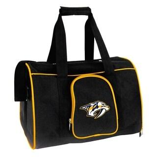NHL Nashville Predators Pet Carrier Premium 16in bag in Yellow