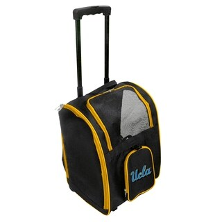 NCAA UCLA Pet Carrier Premium bag with wheels in Yellow
