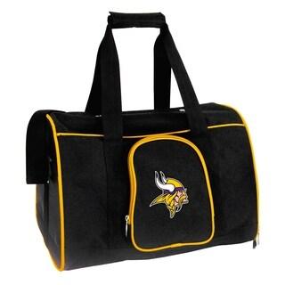 NFL Minnesota Vikings Pet Carrier Premium 16in bag in Yellow