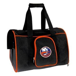 NHL New York Islanders Pet Carrier Premium 16in bag in Orange