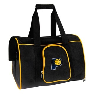 NBA Indiana Pacers Pet Carrier Premium 16in bag in Yellow