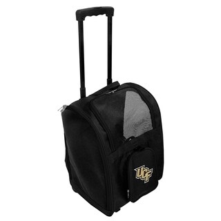 NCAA Central Florida Pet Carrier Premium bag with wheels in Black