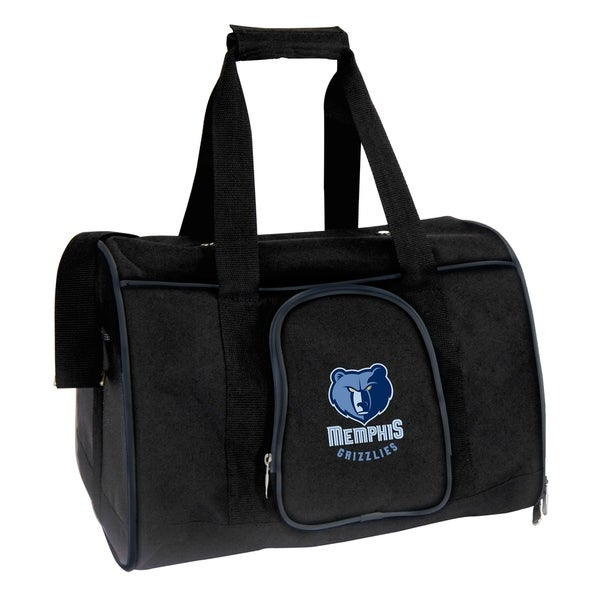 best loved f5dc9 db1e7 NBA Memphis Grizzlies Pet Carrier Premium 16in bag in Navy