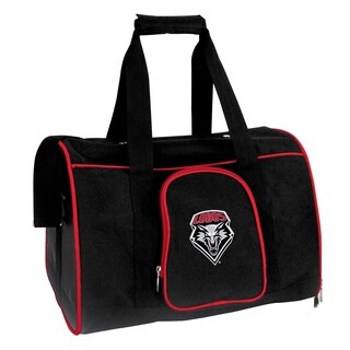 NCAA New Mexico Pet Carrier Premium 16in bag in Red