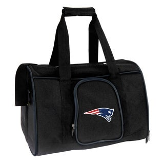 NFL New England Patriots Pet Carrier Premium 16in bag in Navy