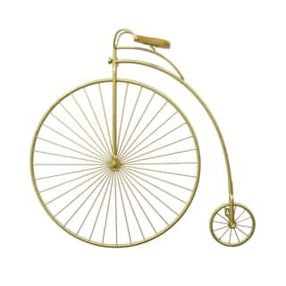 Three Hands Metal Wall Bicycle