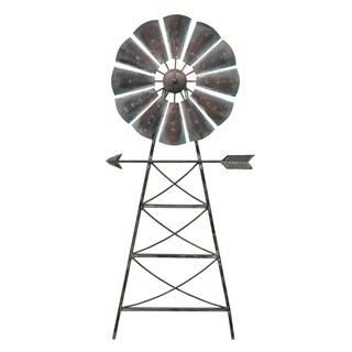 Three Hands Windmill Wall Decor