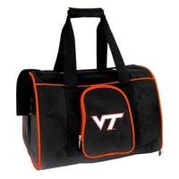 NCAA Virginia Tech Pet Carrier Premium 16in bag in Orange