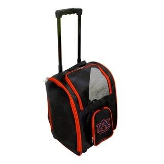 NCAA Auburn Pet Carrier Premium bag with wheels in Orange