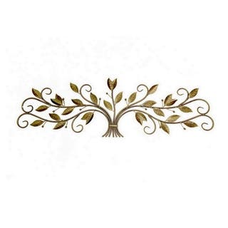 Three Hands Wall Decoration - Gold