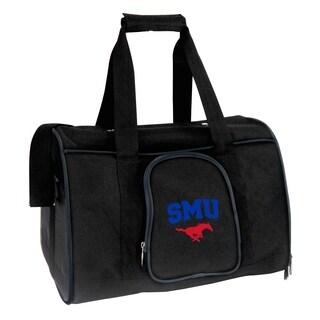 NCAA Southern Methodist Pet Carrier Premium 16in bag in Navy