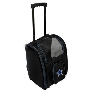 NFL Dallas Cowboys Pet Carrier Premium bag with wheels in Navy